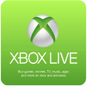Xbox live Cards